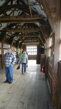 Congleton, UK : Long Hall Little Moreton Hall