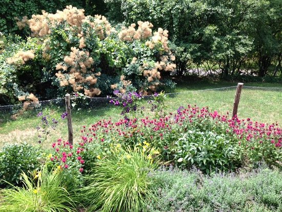 Hudson, نيويورك: Olana Garden