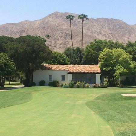 La Quinta, Califórnia: Putting Green outside Adult Pool