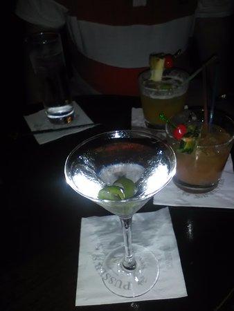 Pusser's Bar Munich: my martini :-)