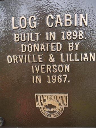 Jamestown, ND: Example of building in Frontier Village