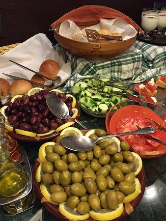 Plaka Hotel: Great Breakfast Buffet