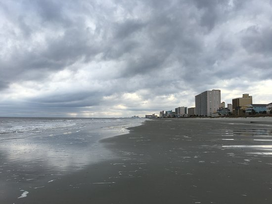 Myrtle Beach The Skies Are Brewing Up Seagulls Screaming And Storm Is Coming