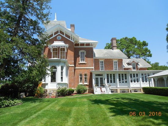 Galena, IL: Backside of the mansion