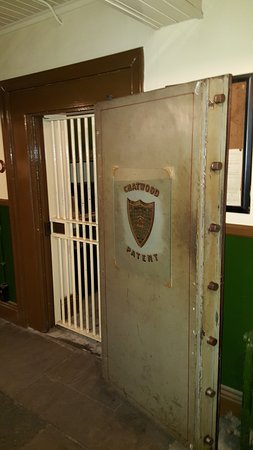 Beamish Museum Bank strong room door & Bank strong room door - Picture of Beamish Museum Beamish ...