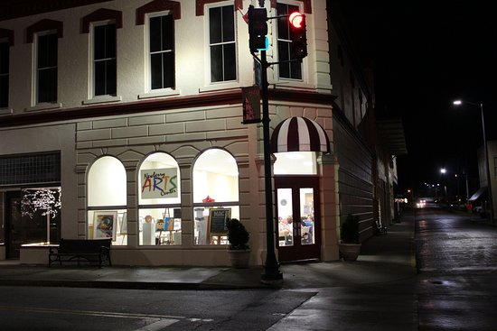 Newberry, SC: Arts Center at Night