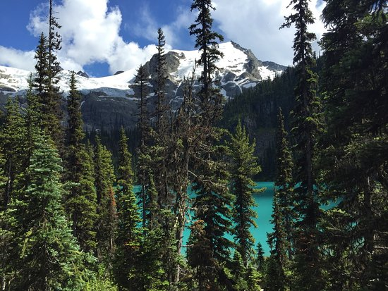 Pemberton, Canada: View from the trail to the second lake.