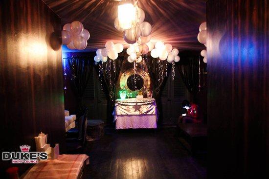 Holetown, Barbados: Celebrate your birthday at Duke's Night Lounge