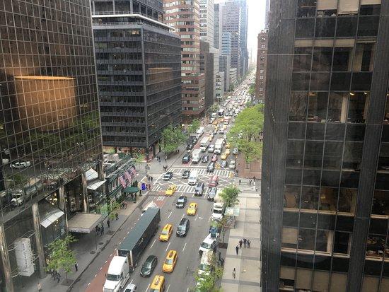 Fifty NYC–an Affinia hotel: vista do 14 andar para a 3rd Avenue