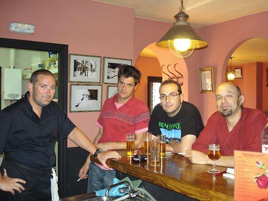 Bubion, Ισπανία: paso de tve en el progama que cocinamos hoy