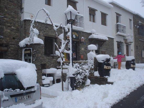 Bubion, Ισπανία: invierno trastienda
