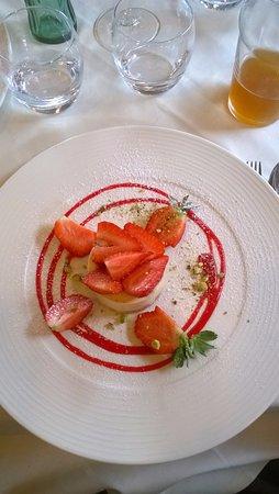 Alagna Valsesia, إيطاليا: Uno dei tanti deliziosissimi dessert