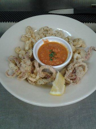 Hayward, WI: Calamari