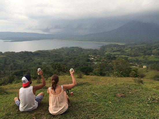 El Castillo, Costa Rica: Here's to life. Pura Vida!
