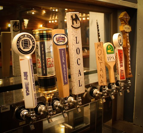 Whitefish, MT: Great Local Beer Selection