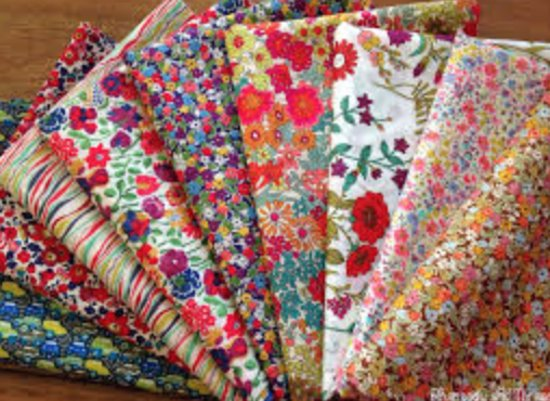 Virginia Quilt Museum: Stacks of fabric are sold to benefit VQM biannually