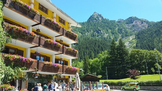 Gressoney Saint Jean, Italië: Albergo Alpenrose
