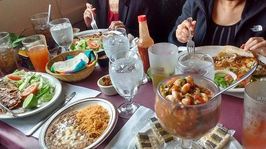 El Dorado Mexican Restaurant Mojarra And Shrimp Tail