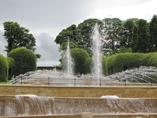 The Alnwick Garden: Fountains.