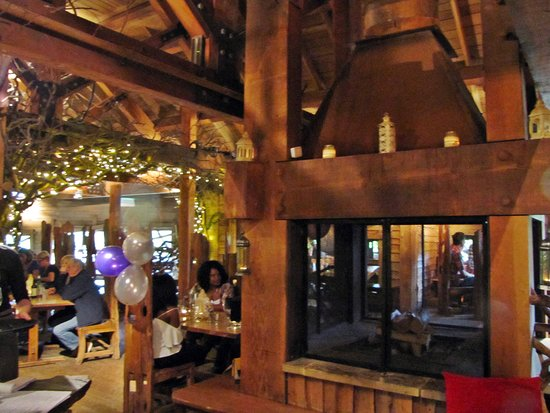 The Alnwick Garden: The unique Treehouse restaurant.