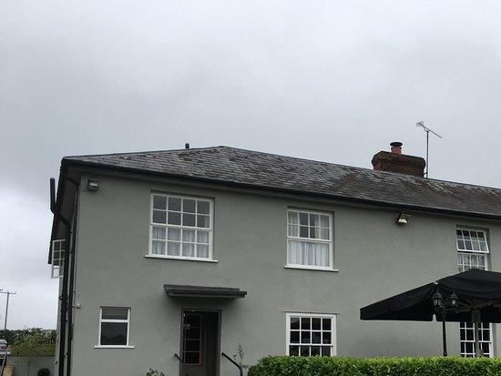 The Hawk Inn : View across the road