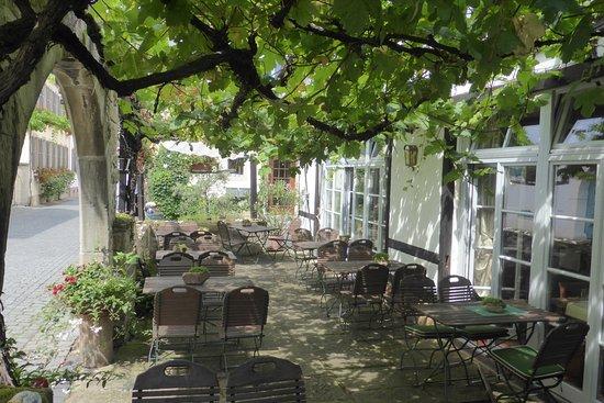 Forst an der Weinstraße, Deutschland: Terrasse