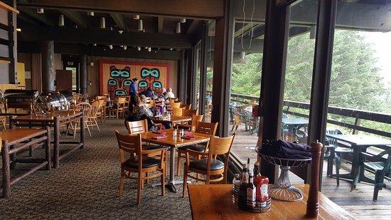 Gustavus, AK: Dining Area