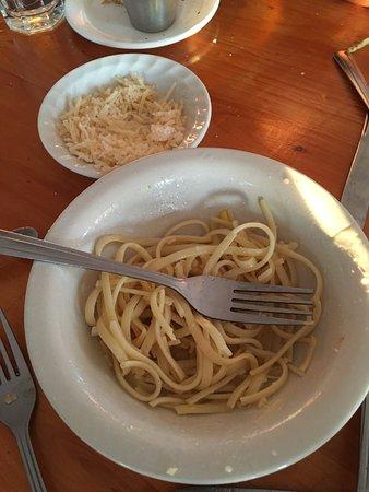 Menemsha, MA: Kids pasta