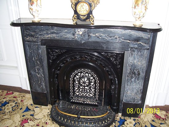 Janesville, WI: 2013 photo of beautiful fireplace in the house.