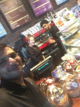 Salford, UK: Cuppa Coffee