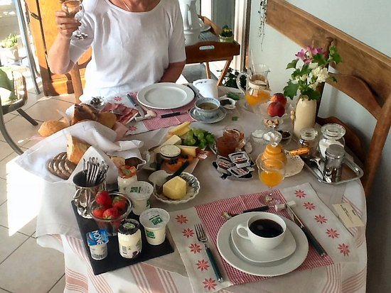 Auby-sur-Semois, Belgia: top breakfast
