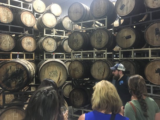 Charlottesville, VA: Blue Mountain Brewery's Barrel House happens to have quite a few barrels.