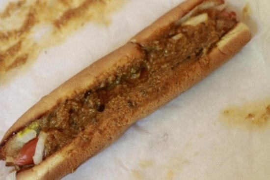 Milwaukie, Oregón: Delicious Foot Long Hot Dogs too