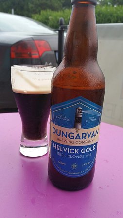 Duncannon, أيرلندا: One of the delicious craft beers and a Guinness 😊