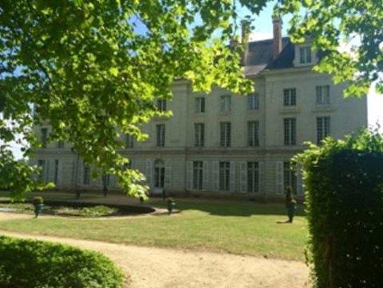 Maine et Loire, Frankrike: Arrière chateau