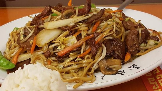 Beef Lo Mein Picture Of Ding How Chinese Restaurant San Antonio