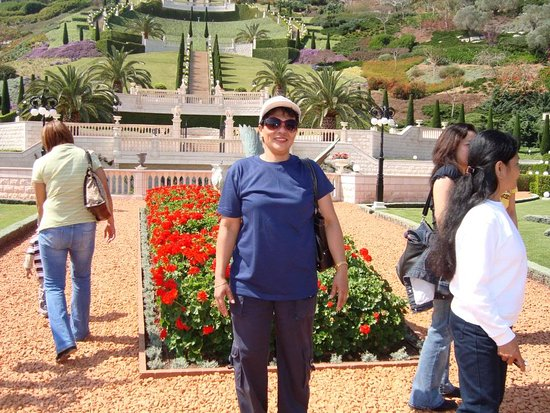 Acre, İsrail: been in here with a group of friends BAHAI GARDEN HAIFA