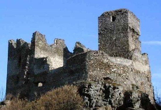 Zricenina hradu Rokstejn