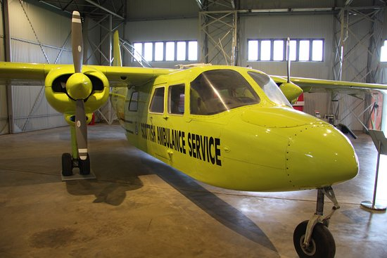 Britten Norman Islander - Picture of National Museum of