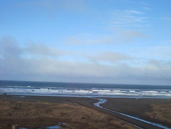Ocean Shores, WA: From the balcony