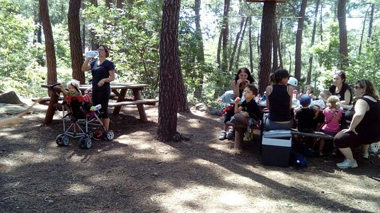Ardeche, Γαλλία: Espace pic nic à Indian Forest