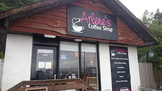 Craignure, UK : Arlene's Coffee Shop