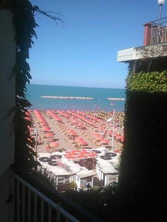 Giovanna Regina Hotel: Vista dalla camera