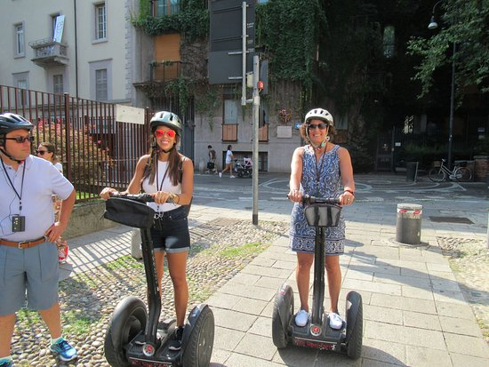 Italy Segway Tours - Milan : Both young and slightly older....