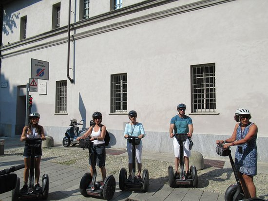 Italy Segway Tours - Milan : Getting instructions