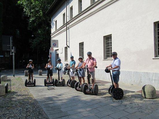 Italy Segway Tours - Milan : Waiting to star our tour