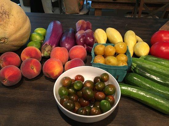Morganton, Carolina del Norte: Local produce