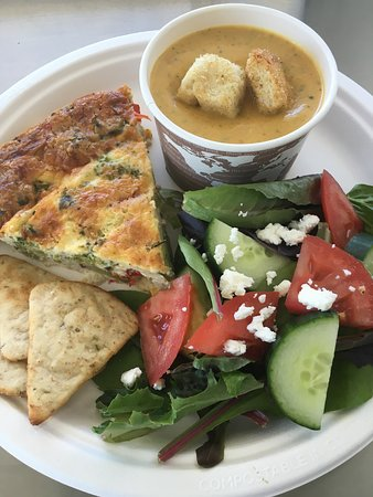 Morganton, Carolina del Nord: Gluten free Crustless quiche