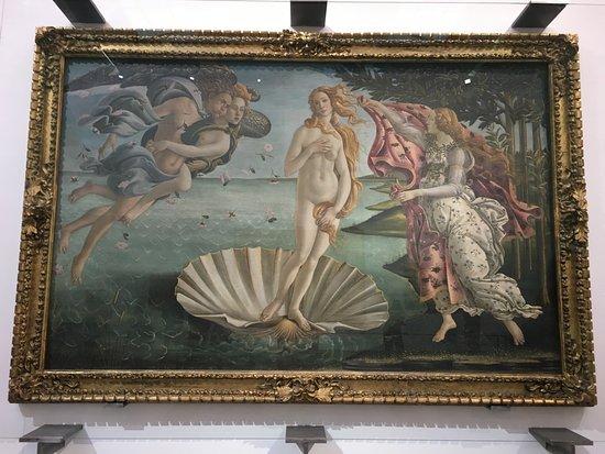 Duomo View B&B: Uffizi Gallery