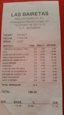 Chiva, Spanien: Cuenta